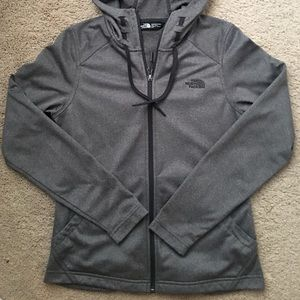 The North Face women's gray jacket size small